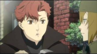 Baccano restaurant scene (English)