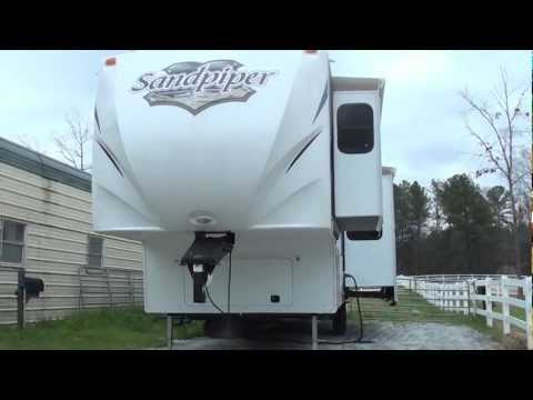 2012 Sandpiper 365SAQ fifth wheel RV