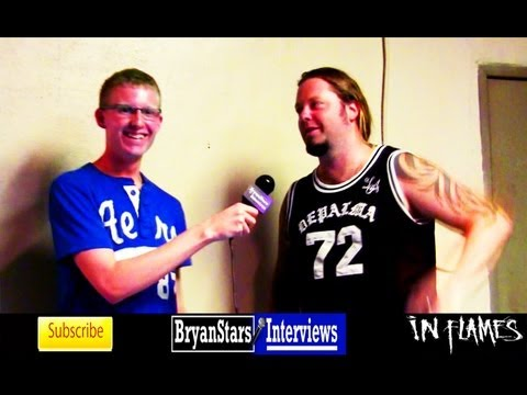 In Flames Interview Peter Iwers 2012