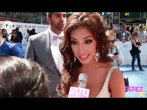Farrah Abraham Talks Teen Mom Return, Plastic Surgery & More At The 2015 MTV Movie Awards!