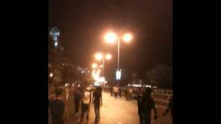 Scene Outside the Wankhede Stadium (Marine Drive) after India Wins the World Cup 2011