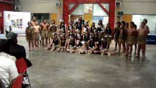 Students from Pukeatua School performed at WelTec on 03-06-2010