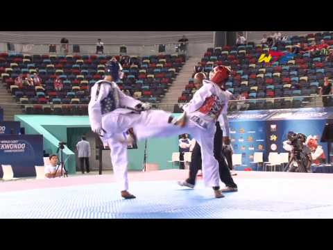 [male -49kg] 1st Wtf World Cadet Taekwondo Championships Final video