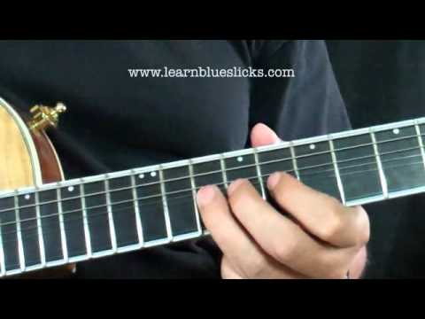 Joe Walsh / Alex Lifeson Style Blues Lick