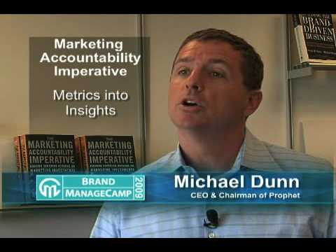 Michael Dunn - Brand ManageCamp 2009 Speaker