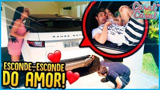 CASAL VS CASAL: ESCONDE ESCONDE DO AMOR!! [ REZENDE EVIL ]