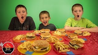 Fast Food Challenge, French Fries Taste Test