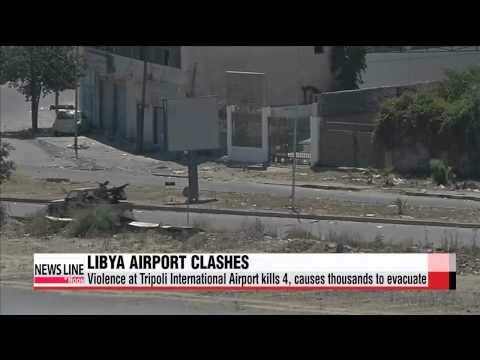 Rival militia fighting in Tripoli airport causes thousands to flee