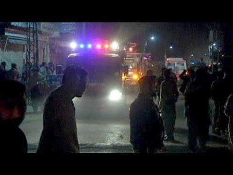 Bomb blasts target Shia community in Pakistan