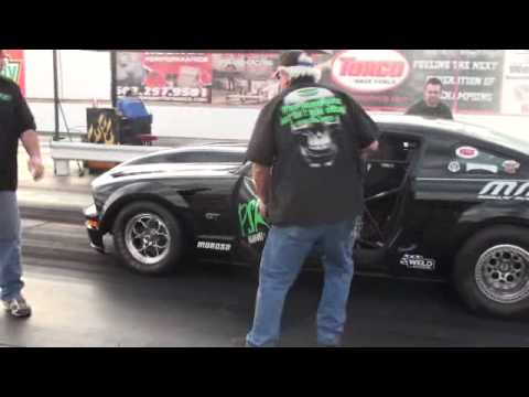 MMR Built Turbo Modular powered 2005 Mustang wins Outlaw final in Phoenix