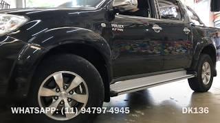 Toyota Hilux 2005 a 2015 - Estribo Plataforma Original - Estribo Plataforma - Dk136 Acessórios