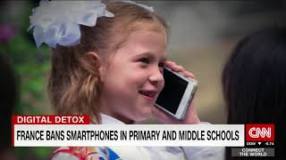 France bans mobile phones from schools - not just classrooms but campus
