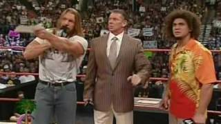 Triple H Returns to RAW on Carlito