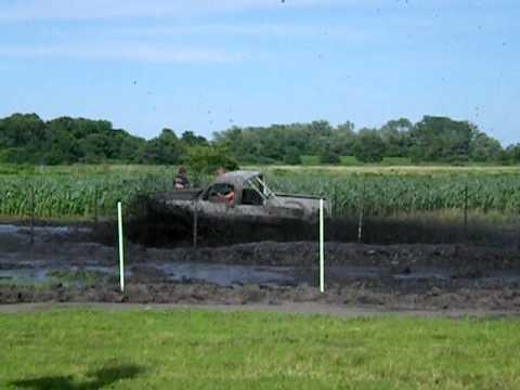 """Chevy Truck @ """"Mud Slinger"""" mud bog in Morrison, IL June 19, 2010"""