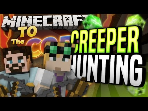 Minecraft Mods - To The Core #61 - CREEPER HUNTING