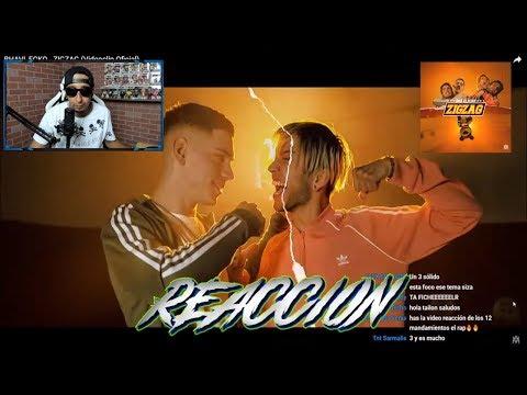 [Reaccion] BHAVI x ECKO - ZIGZAG (Official Music Video)