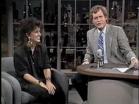 Grace Slick on Late Night, August 12, 1987