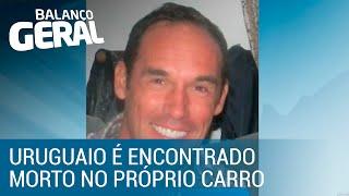 Uruguaio é encontrado morto dentro do próprio carro