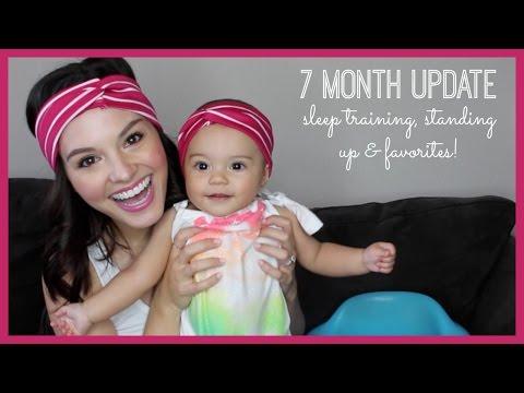 7 Month Update | Sleep Training, Standing Up & Favorites!