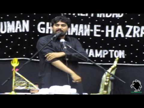 Zakir Waseem Abbas Baloch - Masaib Of Shahzada Ali Akbar (a.s.) - Northampton (uk) - 5th May 2013 video