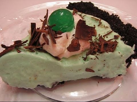Grasshopper Pie for St Patrick Day
