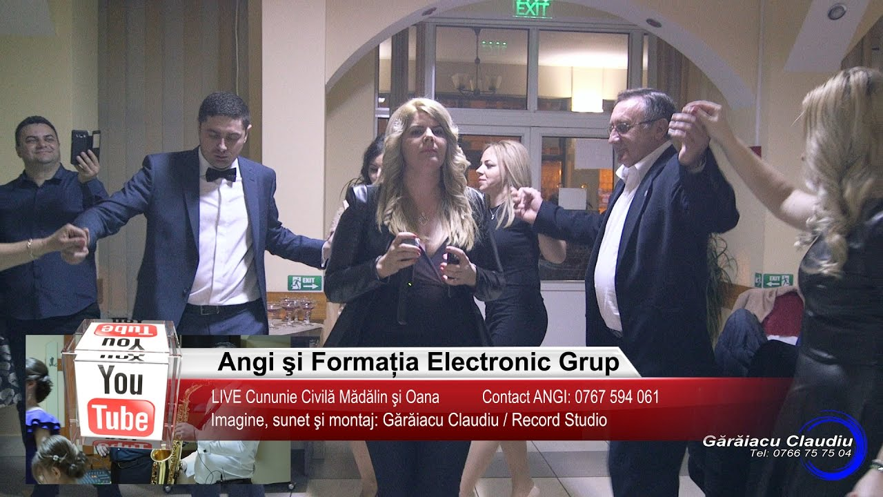 Angi si Electronic Grup   Colaj HORA LIVE   Madalin si Oana   Muzica de Petrecere