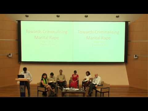 Towards Criminalising Marital Rape 1/27 - Introductions by Nathanael Lim & Anita Kapoor.