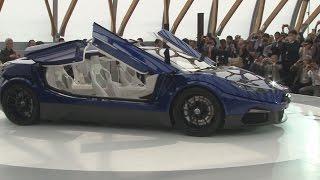 量産EVスーパーカー公開