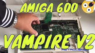 AMIGA 600 Blood sucking VAMPIRE v2 test and review