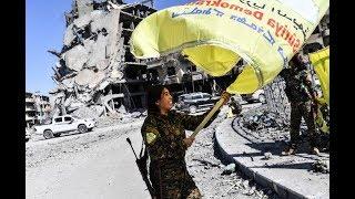US-Backed Forces Take ISIS 'Capital' Raqqa