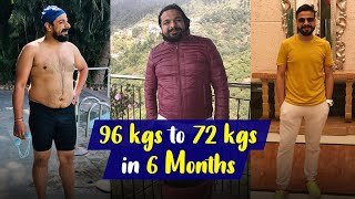 Weight Loss Transformation: Losing 24 Kgs in 6 Months | Fat To Fit | Fit Tak