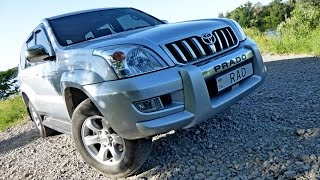 Toyota Land Cruiser Prado 120(2006) 2.7 AT Тест Драйв. Иван Ангелов