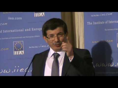Ahmet Davutoglu on 'Turkish Foreign Policy'
