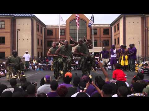 Beta Sigma Chapter of Omega Psi Phi Probate Spring 2013
