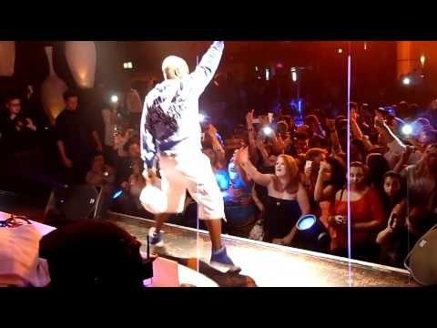 27.05.2012 Sisqo - Unleash The Dragon LIVE  VIRAGE Osnabrück...