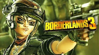 "Borderlands 3 - Official Moze Character Trailer: ""The BFFs"""