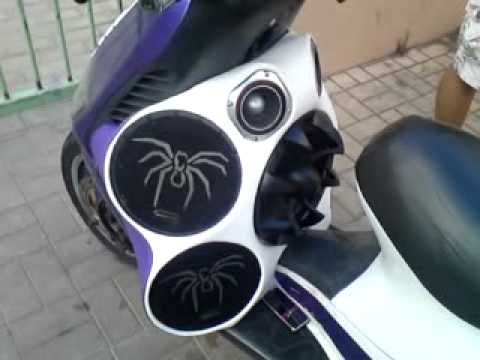 Scooter audio sound system by HXOMANIA GREECE
