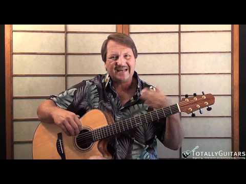 April Come She Will Acoustic Guitar Lesson   - Paul Simon
