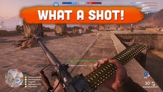 WHAT A SHOT! - Battlefield 1 | Road to Max Rank #22 (Multiplayer Gameplay)