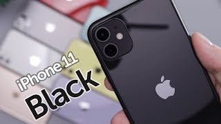 Black iPhone 11 Unboxing & First Impressions!