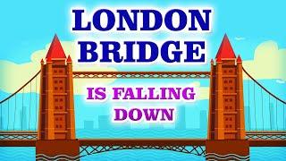 London bridge is falling down I Nursery Rhymes I Kids I Cartoon I Animation