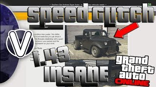 GTA 5 Online | RAT TRUCK INSANE SPEED GLITCH 1.43 *FASTEST CAR IN THE GAME* (GTA 5 Online Glitches)
