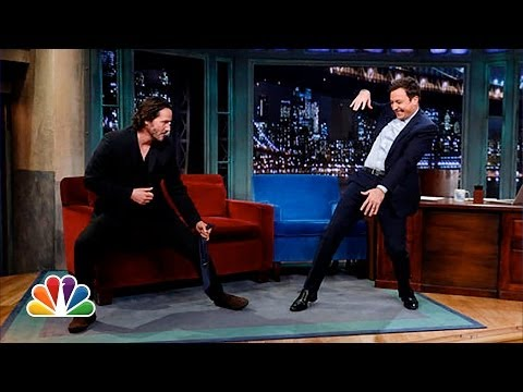 Keanu Reeves Defends Jimmy s T ai Chi (Late Night with Jimmy Fallon)