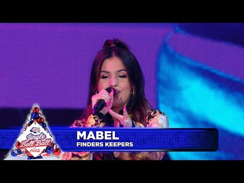 Mabel - 'Finders Keepers'  (Live at Capital's Jingle Bell Ball 2018)