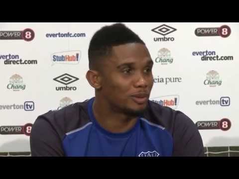 Press Conference: Eto'o & Martinez