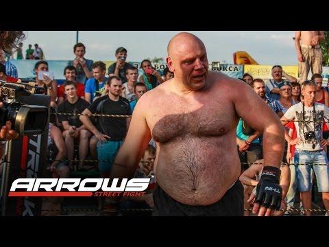 ARROWS Unbelievable Beer man in MMA !!