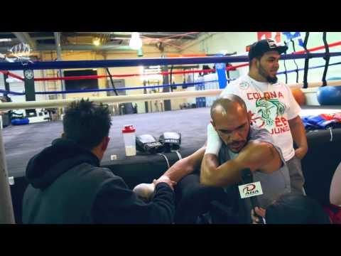 Рэй Белтран закончил свою подготовку к бою с Теренсом Кроуфордом.