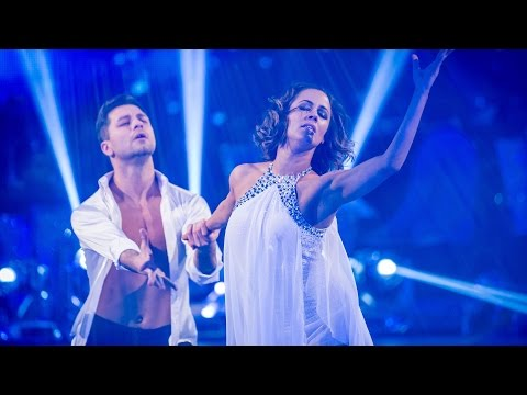 http://www.bbc.co.uk/strictly Caroline Flack and Pasha Kovalev perform their Showdance to 'Angels' by Robbie Williams.