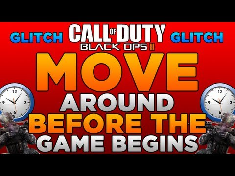 Black Ops 2 Glitches: Move Around During Countdown Timer Glitch!