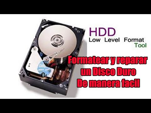 Formatear y reparar disco con - Hard Disk Low Level Format Tool